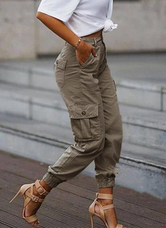 Taschen Übergröße Tarnen Lässige Kleidung Stammes Hosen