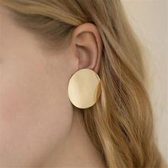 Stilvoll Einfache Legierung Frauen Ohrringe