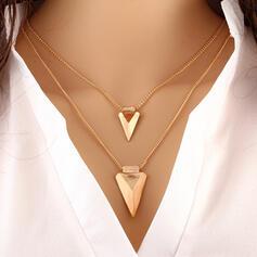 Modisch Legierung Halsketten