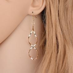 Simple Alloy Ladies' Earrings