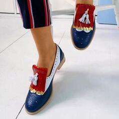 Frauen PU Andere Flache Schuhe mit Quaste Schuhe