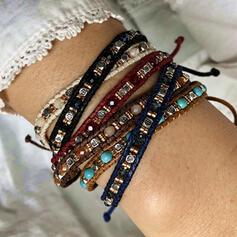 Stilvoll Legierung Harz Armbänder