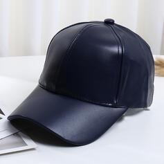 Men's/Unisex/Women's Classic/Simple Pu Baseball Caps