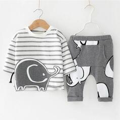 2 Stücke Baby Junge Karikatur Tier Baumwolle Stellen Sie Größe