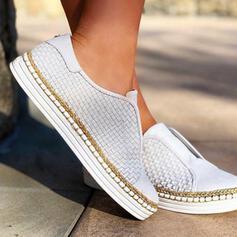 PU Lässige Kleidung Outdoor Sportlich mit Hohl-out Schuhe