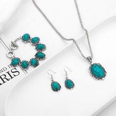 Attractive Charming Elegant Artistic Delicate Alloy Women's Ladies' Necklaces Earrings Bracelets