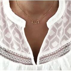Löwe Valentinstag Legierung Frauen Halsketten
