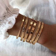 Modisch Vergoldet Armbänder (Set von 2)