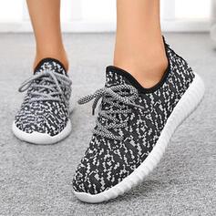 Frauen Stoff Flascher Absatz Flache Schuhe Round Toe Tanzschuhe mit Klettverschluss Schuhe