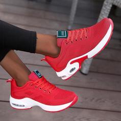 Frauen Stoff Mesh Lässige Kleidung Outdoor Sportlich mit Zuschnüren Schuhe