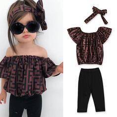 3 Stücke Baby Mädchen Druck Baumwolle Stellen Sie Größe