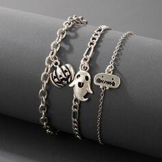 Attractive Charming Artistic Delicate Alloy Women's Ladies' Bracelets 3 PCS