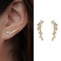 Pretty Fancy Delicate Alloy Women's Earrings 2 PCS