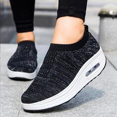 Frauen Mesh Lässige Kleidung Outdoor Sportlich mit Hohl-out Schuhe