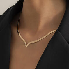 mit Vergoldet Frauen Damen Halsketten 1 PC