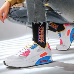 Frauen Mesh Lässige Kleidung Outdoor Sportlich mit Zuschnüren Schuhe