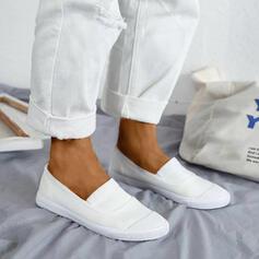 Frauen Leinwand Lässige Kleidung Outdoor mit Gummiband Schuhe