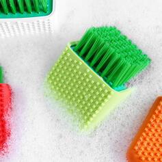 Moderner Style PP Silikon Reinigungsbürste (Set von 2)