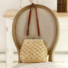 Geflochten Handtaschen/Umhängetaschen/Schultertaschen/Strandtaschen