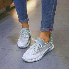 Frauen Stoff Lässige Kleidung Outdoor mit Gummiband Schuhe