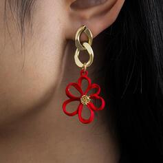 mit Blumen Frauen Damen Ohrringe 2 STÜCK