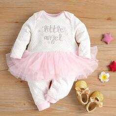 Baby Mädchen Buchstaben Druck Baumwolle Badeanzüge