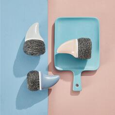 Moderner Style Abs Rostfreier Stahl Reinigungsbürste (Set von 2)