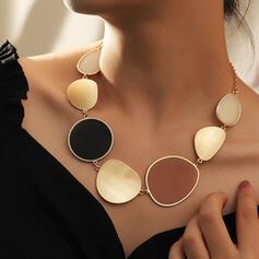 Modisch Stilvoll Legierung Frauen Damen Halsketten
