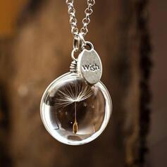 Attraktiv Anhänger Elegant Künstlerische Zarte Legierung mit Minimalistisch Damen Halsketten