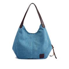 Segeltuch Art Leinwand Schultertaschen/Hobo-Taschen