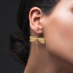 Dragonfly Alloy With Minimalist Women's Earrings