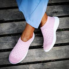 Frauen Fliegende Webart Lässige Kleidung Outdoor Sportlich mit Gummiband Schuhe