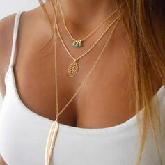 Einzigartig Stilvoll Legierung Halsketten
