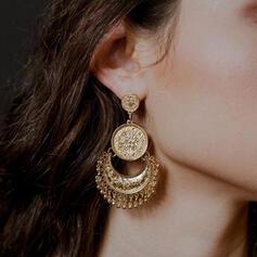 Exotisch Jahrgang Legierung Ohrringe