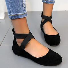 Frauen PVC Flascher Absatz Flache Schuhe Slipper Schlüpfen Slipper & Slips mit Tierdruckmuster Gummiband Kreuz und quer Schuhe