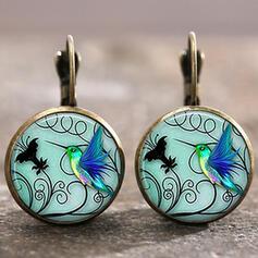 Anhänger Hübsche Künstlerische Romantisch Legierung mit Schmetterling Frauen Ohrringe