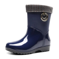 Gummi Niederiger Absatz Regenstiefel Schuhe