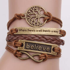 Charming Pretty Artistic Romantic Alloy With Tree Ladies' Bracelets