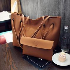 Elegant/Einfarbig Tragetaschen/Tasche Sets/Geldbörsen & Wristlet Taschen