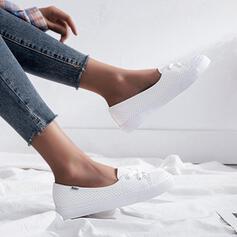 Frauen Mikrofaser Lässige Kleidung Sportlich mit Zuschnüren Schuhe