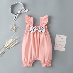 Baby Mädchen Bowknot Tupfen Baumwolle Badeanzüge
