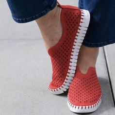 Frauen Mikrofaser Lässige Kleidung Outdoor Sportlich mit Hohl-out Schuhe