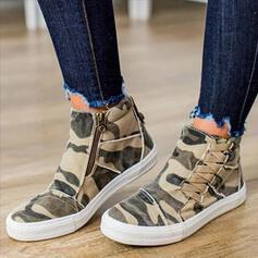 Frauen Kunstleder Lässige Kleidung Outdoor Schuhe