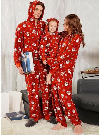 Weihnachtsmann Drucken Passende Familie Christmas Pajamas