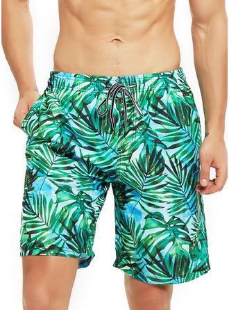 Herren Laub Board Shorts