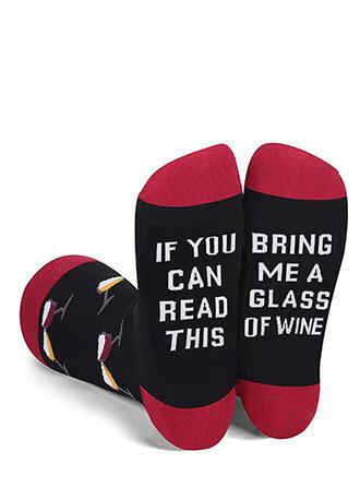 Letter attractive/fashion/simple Socks