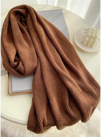 Einfarbig einfache/Komfortabel/Hautfreundlich Schal