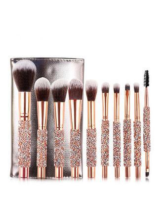 10 PCS Soft Simple Classic Makeup brush sets
