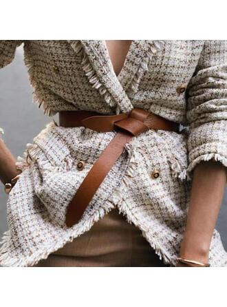 Stilvoll Leder Frauen Gürtel
