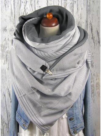 Einfarbig überdimensional/mode Schal